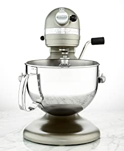 KitchenAid Professional 600 Series KP26M1XACS Bowl-Lift Stand Mixer, 6 Quart, Cocoa Silver