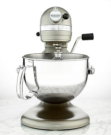 KitchenAid Professional 600 Series KP26M1XACS Bowl Lift Stand Mixer, 6 Quart,  Cocoa Silver