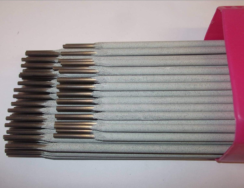 12 x 1/8 pulgadas acero inoxidable E316L17 Arc soldadura ...