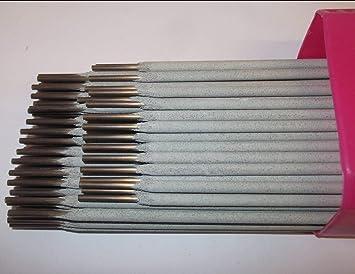 6 x 1/8 pulgadas e316l17 Arc de acero inoxidable varillas de ...