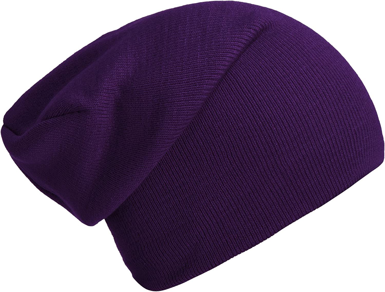 DonDon winter hat slouch beanie warm classical design modern and soft