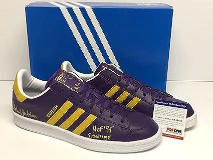 27f2f88b0dd Kareem Abdul-Jabbar Signed Adidas Jabbar Lo Shoes