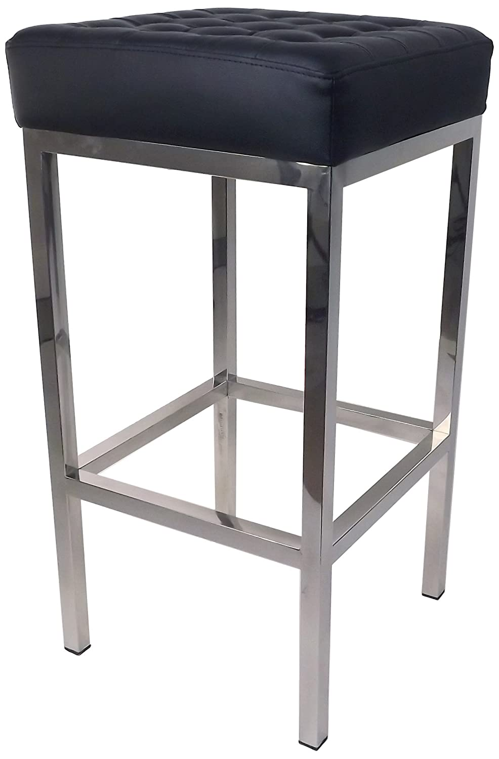 Control Brand FH K2 BLACK The Florence Tufted Stool