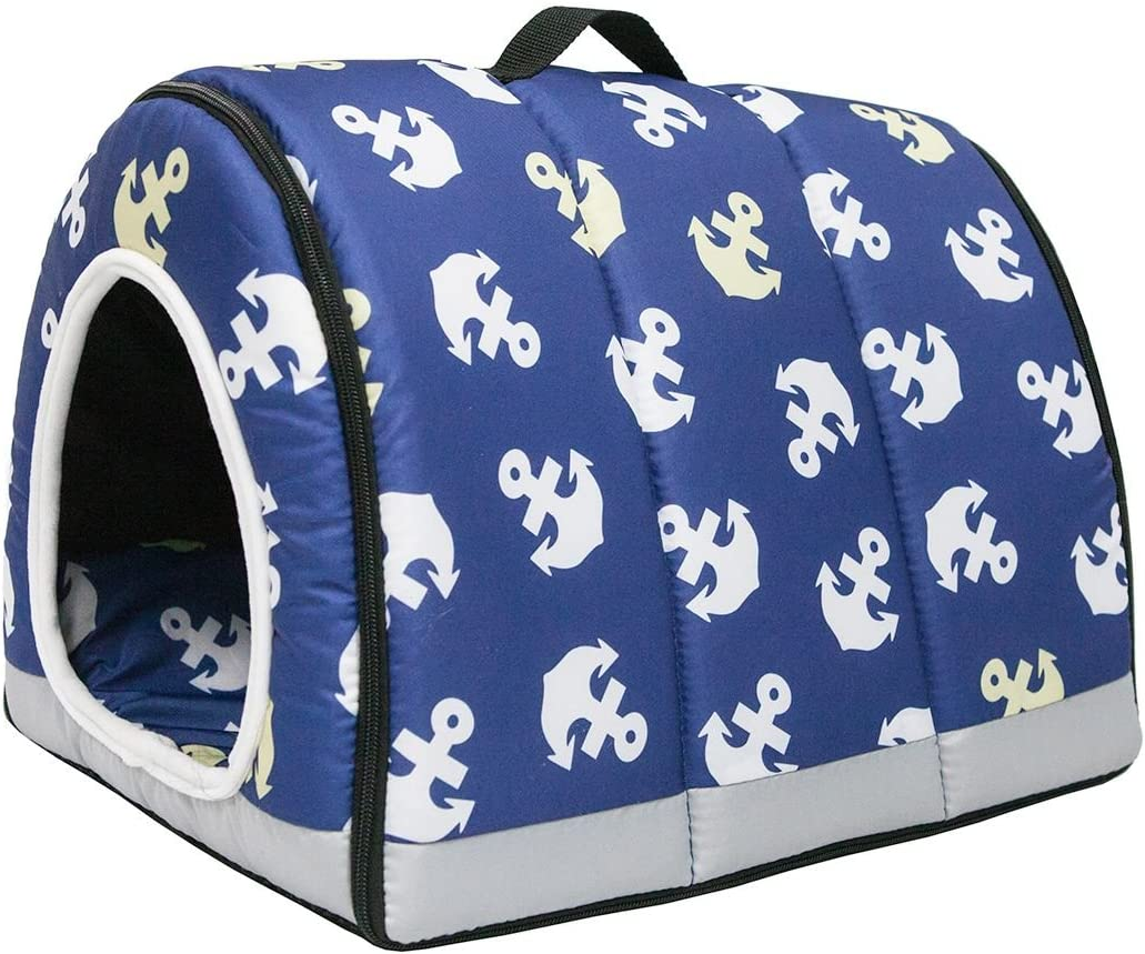 Petique Anchor's Japan New mail order Maker New Away Pet One-Zip House