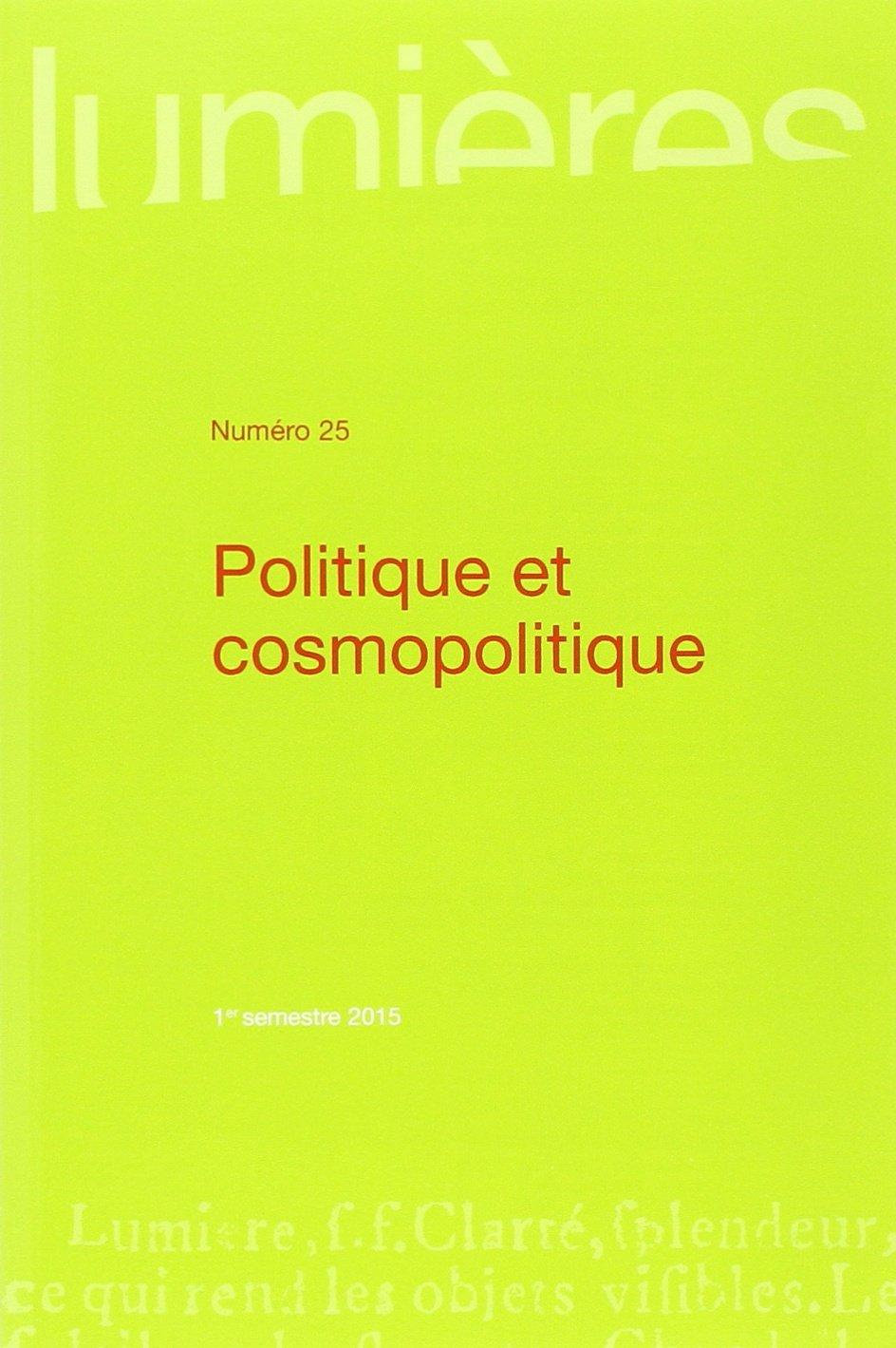 Amazon Fr Politique Et Cosmopolitique Sophie Coignard
