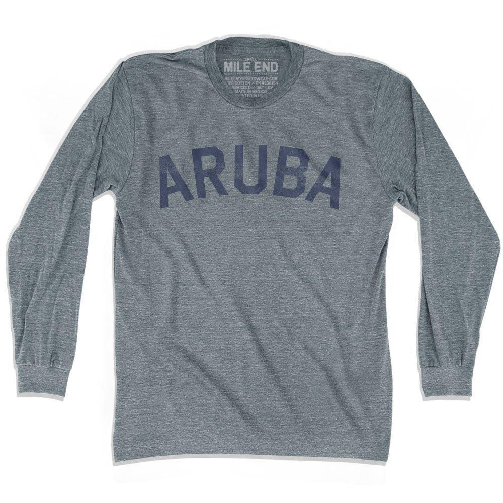 Aruba City Vintage Long Sleeve T-shirt
