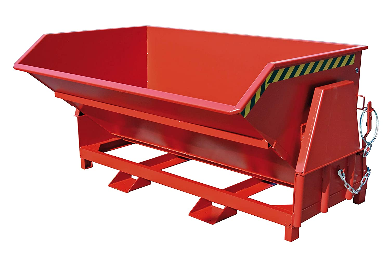 Stapleranbaugerät Kippbehälter Typ BK200, Inhalt 2,00m³, 1670x2150x1175mm,Tragl. 2000kg, Verzinkt