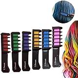 Haarkreide,Hair Chalk,Haarkreide-Set,LDream® 6 Farben - vibrierende,langlebige temporäre Schimmer Haar Farben Creme mit Kämme Haare Färben Kreide Haartönungen