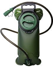 StillCool Sacca d'idratazione 2L Sacca BPA LIBERA, a prova di perdite e duratura Sacca d'acqua per l'acqua Vasi per sport Escursionismo Campeggio Arrampicata Escursionismo Ciclismo Verde