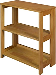 Regency Flip Flop Bookcase, 28 x 22-inches, Medium Oak