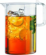 Bodum 1470-10, Ceylon Ice Tea Jug with Filter, 1.5 l, 51 oz., Clear
