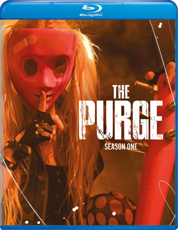 Amazon.com: The Purge: Season One [Blu-ray]: Gabriel Chavarria ...