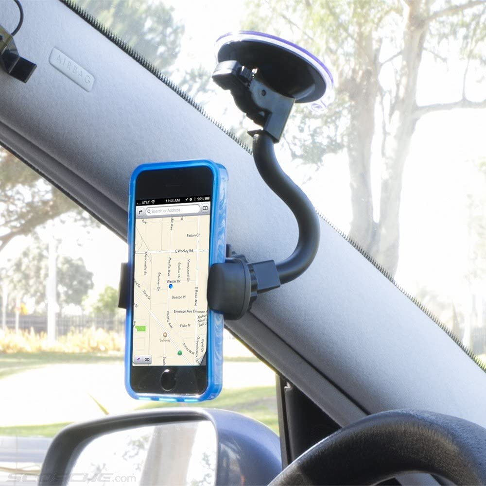 Scosche IPH3GR GPS Style Window Mount for iPhone /& iPod