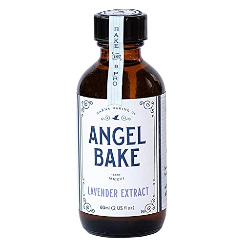 Saena Baking Co Angel Bake Pure Lavender Extract