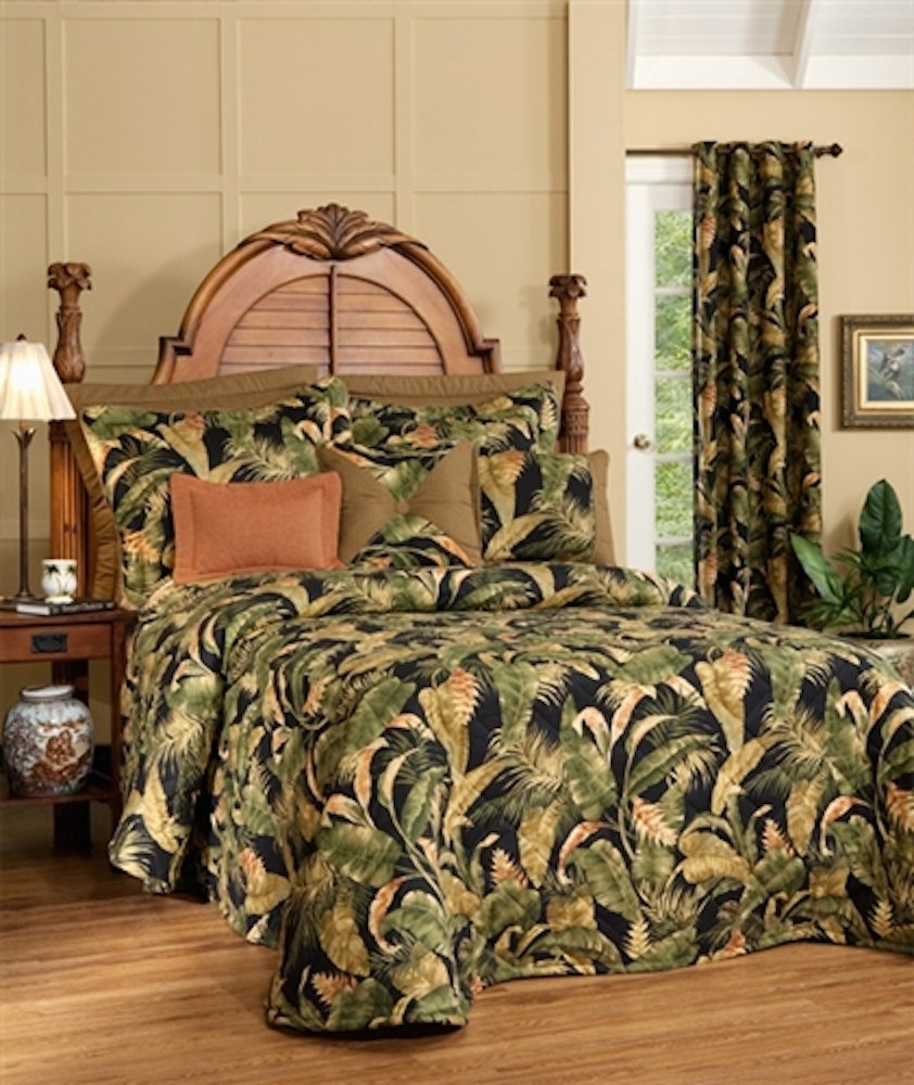 La Selva Black King Bedspread by Thomasville