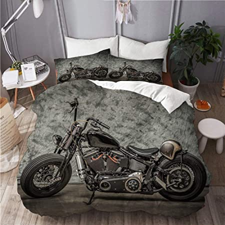 Copripiumino Harley Davidson.Mobeiti Set Biancheria Da Letto Harley Moto Cool Davidson Vintage