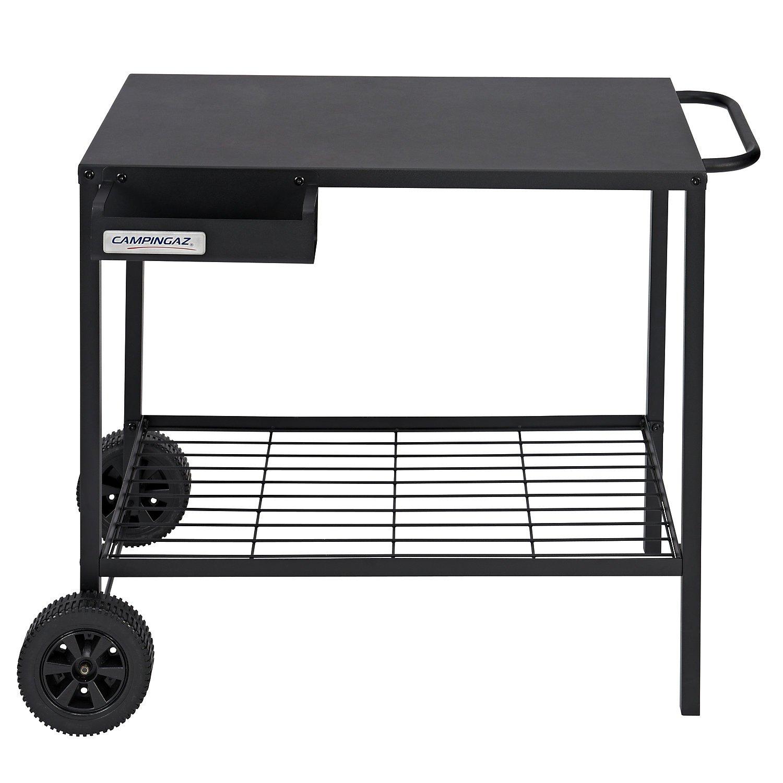 Campingaz Barbecue Plancha Metal Serving Trolley - Black 2000025697