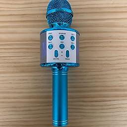 Amazon Co Jp Trutdotカラオケマイク Bluetooth 高音質 おうちカラオケ 多彩ledライト付き マイマイク カラオケ ポータブルスピーカー カラオケマイク ワイヤレス 音楽再生 カラオケマイク 大容量 2400mah 録音可能 Android Iphoneに対応 ブラック 楽器