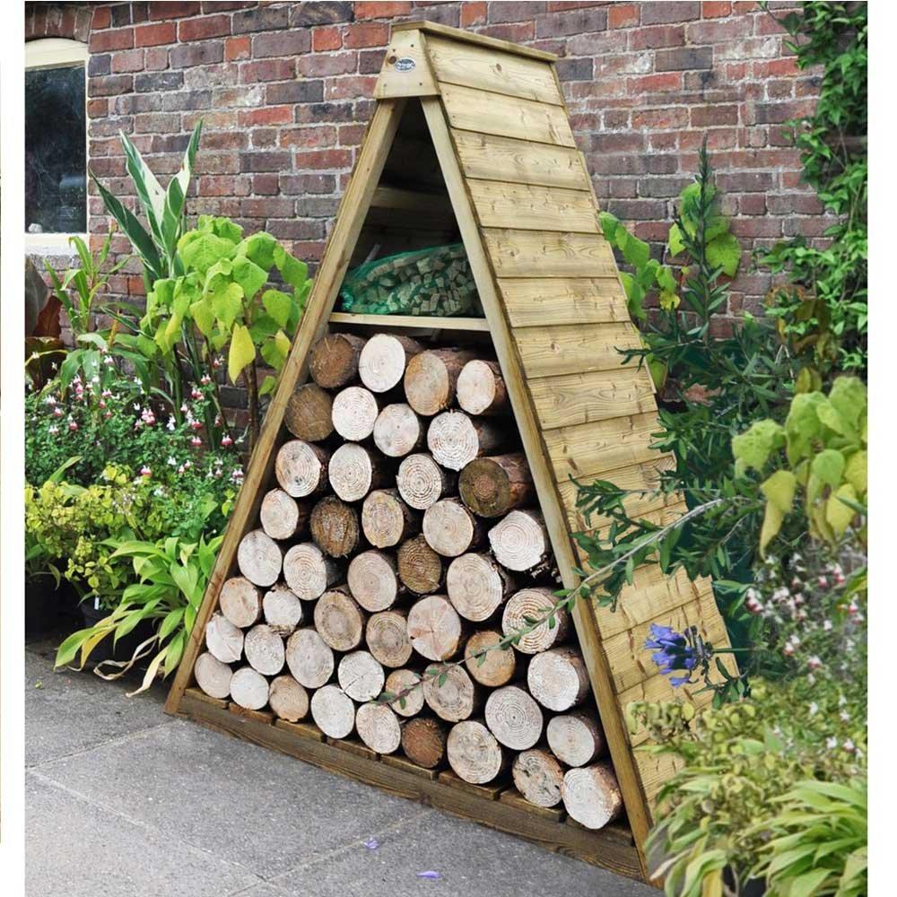 Forest Garden Pinnacle Log Store PINLGSTHD