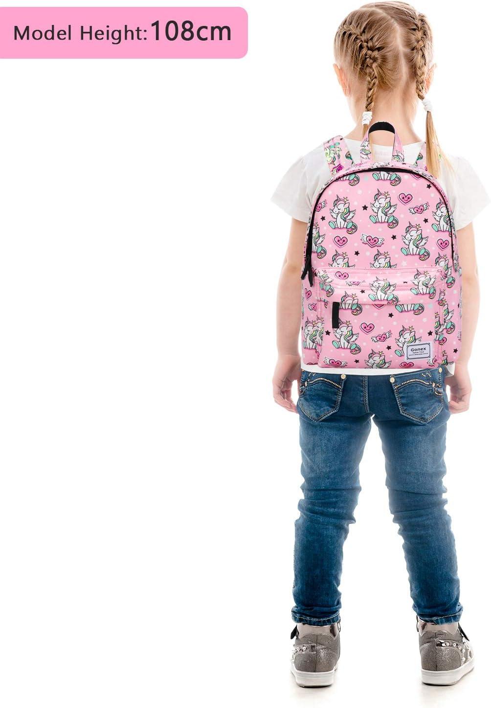 Gonex Sac /à Dos Enfant Maternelle Motifs Imprim/és Prot/éger lepaule Cartable Scolaire en Polyester pour Tout-Petit Fille Gar/çon Enfant Dinausaure