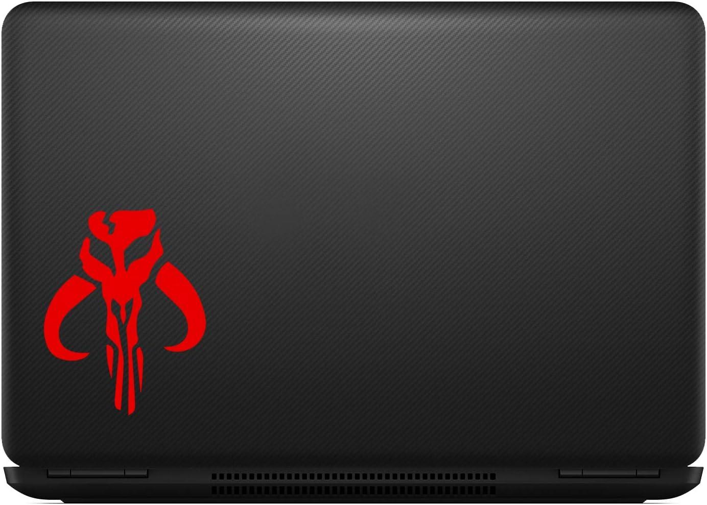 Red Bargain Max Decals Mandalorian Boba Fett Sticker Decal Notebook Car Laptop 5