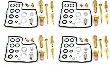 Damineding 4 X Carburetor Carb Repair Rebuild Kit 84-87 GL1200 Goldwing 1200 Aspencade Interstate