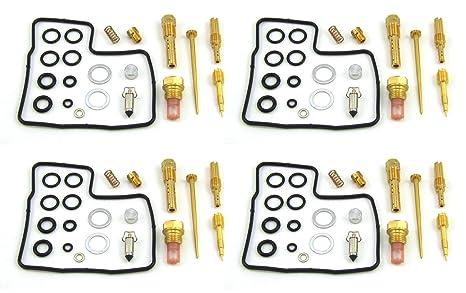 damineding 4 x carburador Carb Kit de reconstrucción de reparación 84 85 86 87 Honda GL1200
