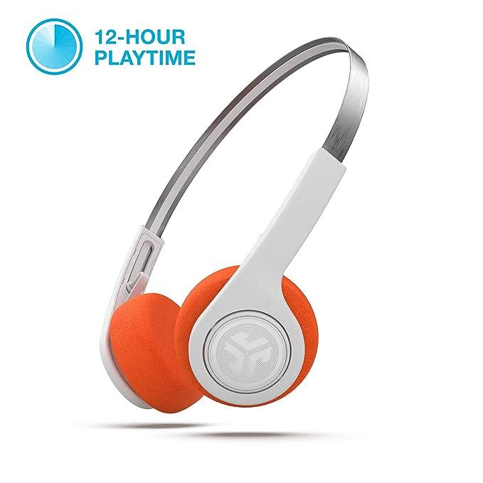 496148886e0 JLab Audio Rewind Wireless Retro Headphones | Bluetooth 4.2 | 12 Hours  Playtime | Custom EQ3