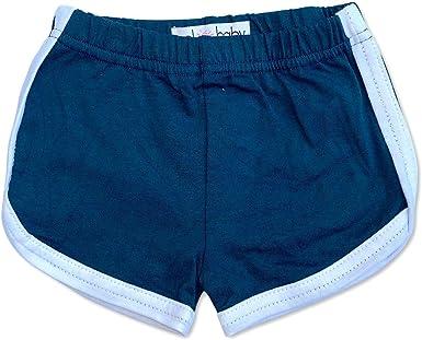 Sol Baby Retro Gym Shorts Navy Blue