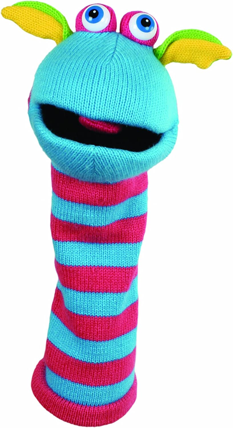 The Puppet Company - Knitted Puppet - Scorch