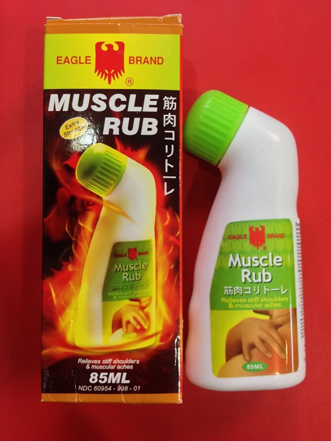 Singapore Original Eagle Brand Muscle Rub 85ml ????? Relieves Stiff Shulders & Muscular Aches