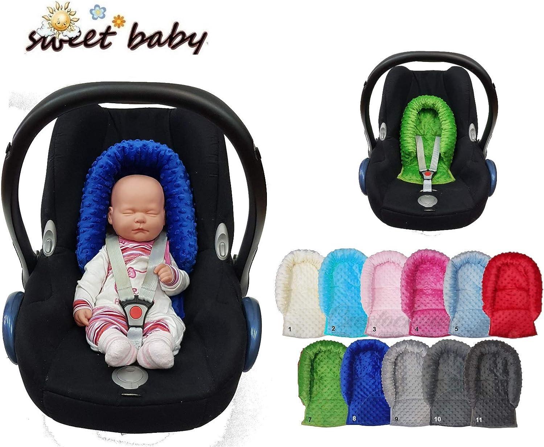 Sweet Baby ** SOFTY MINKY ** Reductor para silla de bebé Maxi Cosi ...