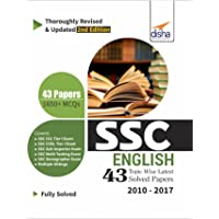 SSC English Topic-Wise Latest 43 Solved Papers (2010-2017)