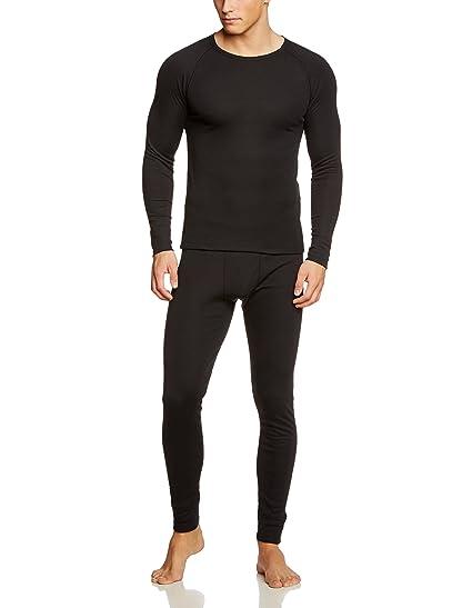 CMP Funktionswäsche - Conjunto térmico de ropa interior para hombre, color negro,