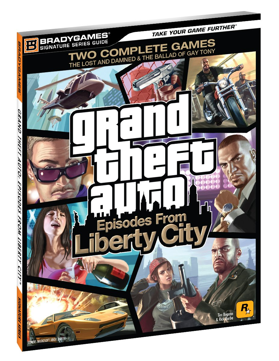 Grand Theft Auto Episodes From Liberty City Signature Series Strategy Guide Bradygames Signature Guides Tim Bogenn Rick Barba