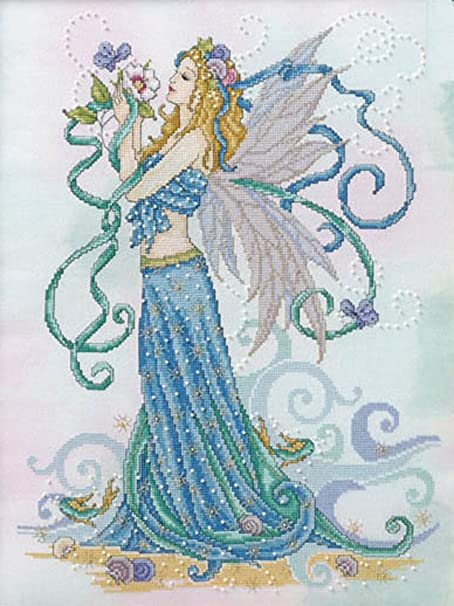 Summer Goddess By Joan Elliott Cross Stitch Chart