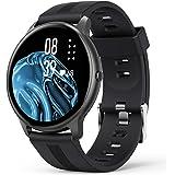 Smart Watch, AGPTEK Smartwatch for Men Women IP68 Waterproof Activity Tracker with Full Touch Color Screen Heart Rate Monitor