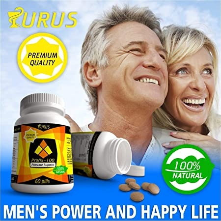 Prostate Supplements for Men - Prostate Herbal Supplements - Absolutely Natural for Prostate Health and...