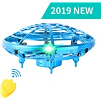 Flying Toys for Kids Mini UFO Drone Hand Operated Drones with 2 Speed, Flying Ball Drone… photo