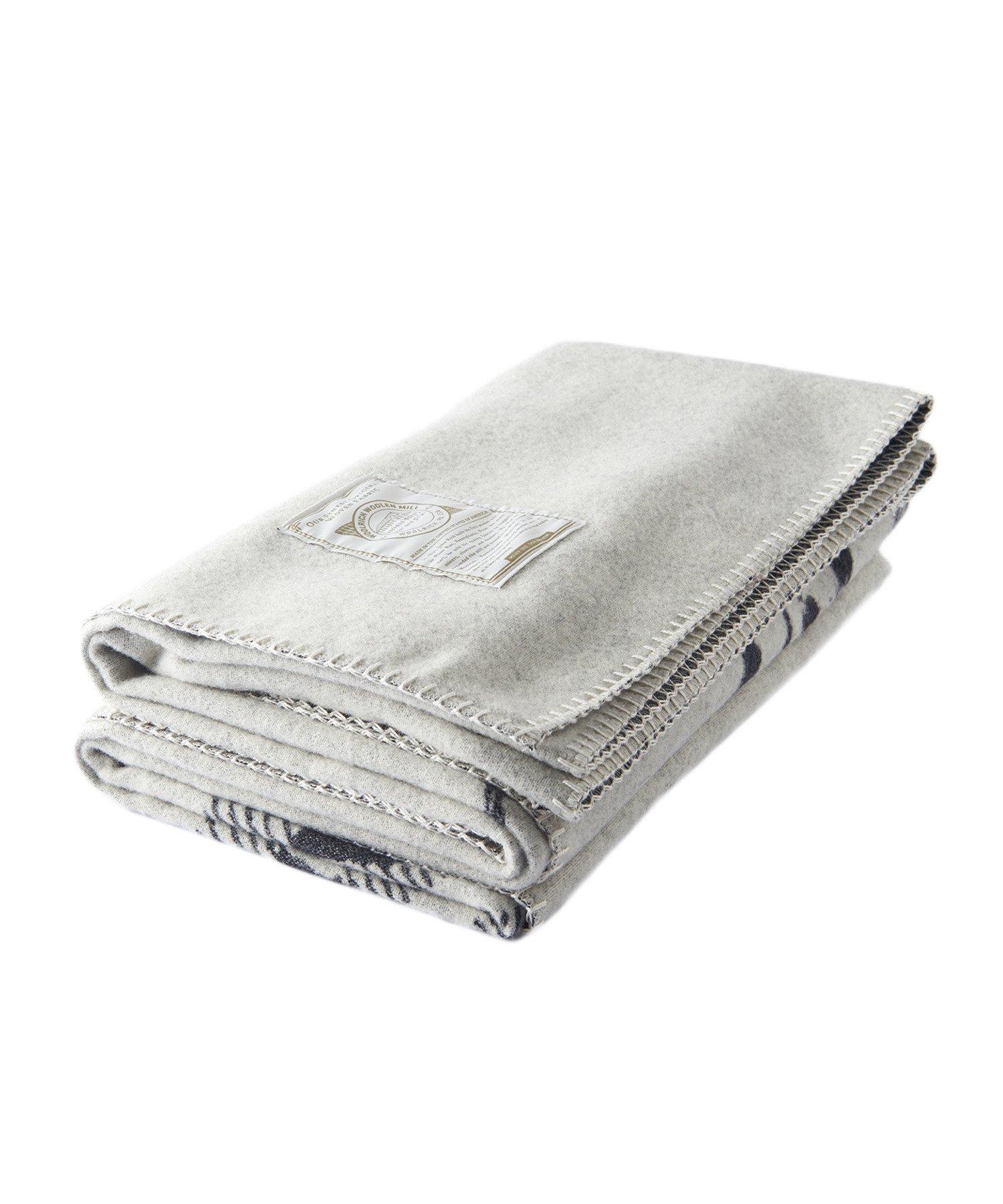 Woolrich 92475 Treverton Jacquard Blanket, Moose-R