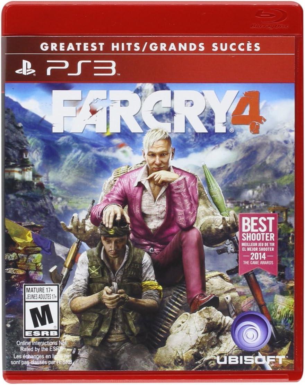 Amazon com: Far Cry 4 - PlayStation 3: Ubisoft: Video Games