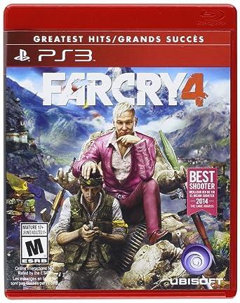 Amazon Com Far Cry 4 Playstation 3 Ubisoft Video Games