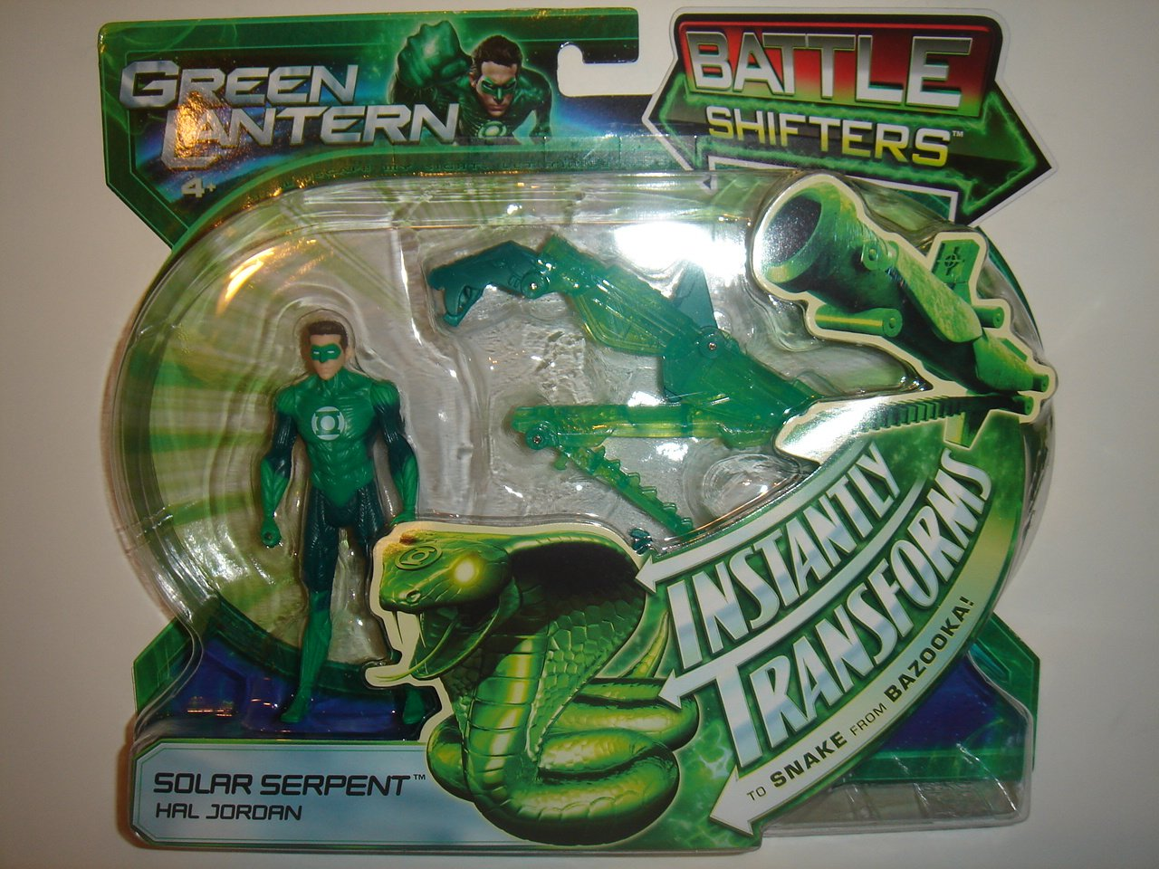 Green Lantern 9.5cm Battle Shifters Solar Serpent Hal Jordan