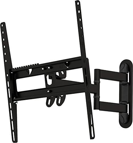AVF EL404B-A Multi Position Full Motion Long Extension TV Wall Mount for 25-Inch to 55-Inch TVs