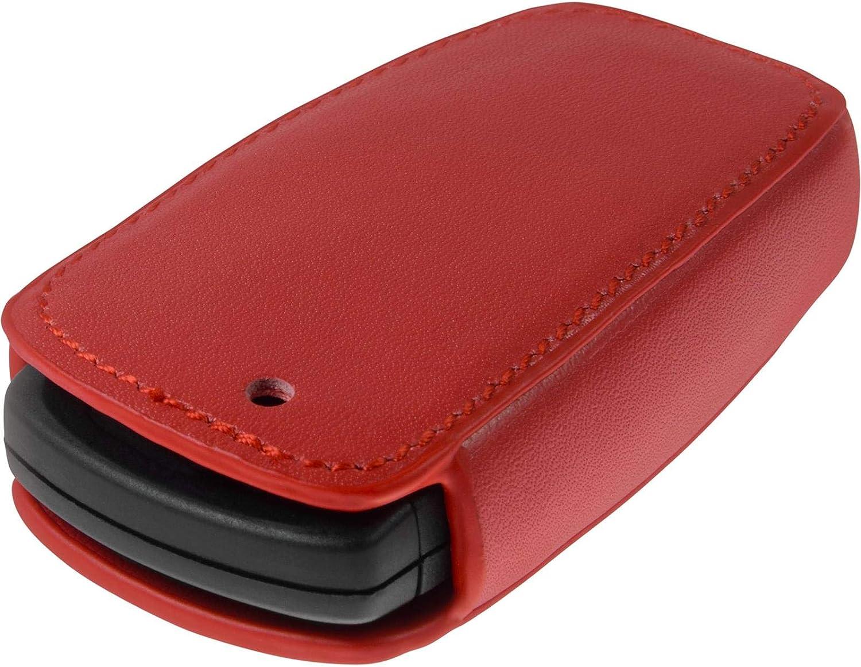 5er F10 und 7er F01 4 Touches Cl/é articul/ée /à 4-Key PhoneNatic Coque en Cuir v/éritable Classic cl/é Auto Noir pour t/él/écommande BMW 3er E90