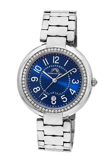 porsamo Bleu Sofia Plata Tono Acero inoxidable Ladies reloj 952 ASOS