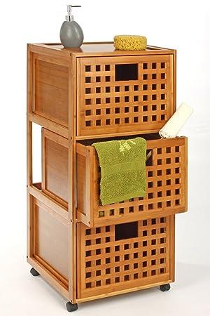 muebles de bambu con ruedas