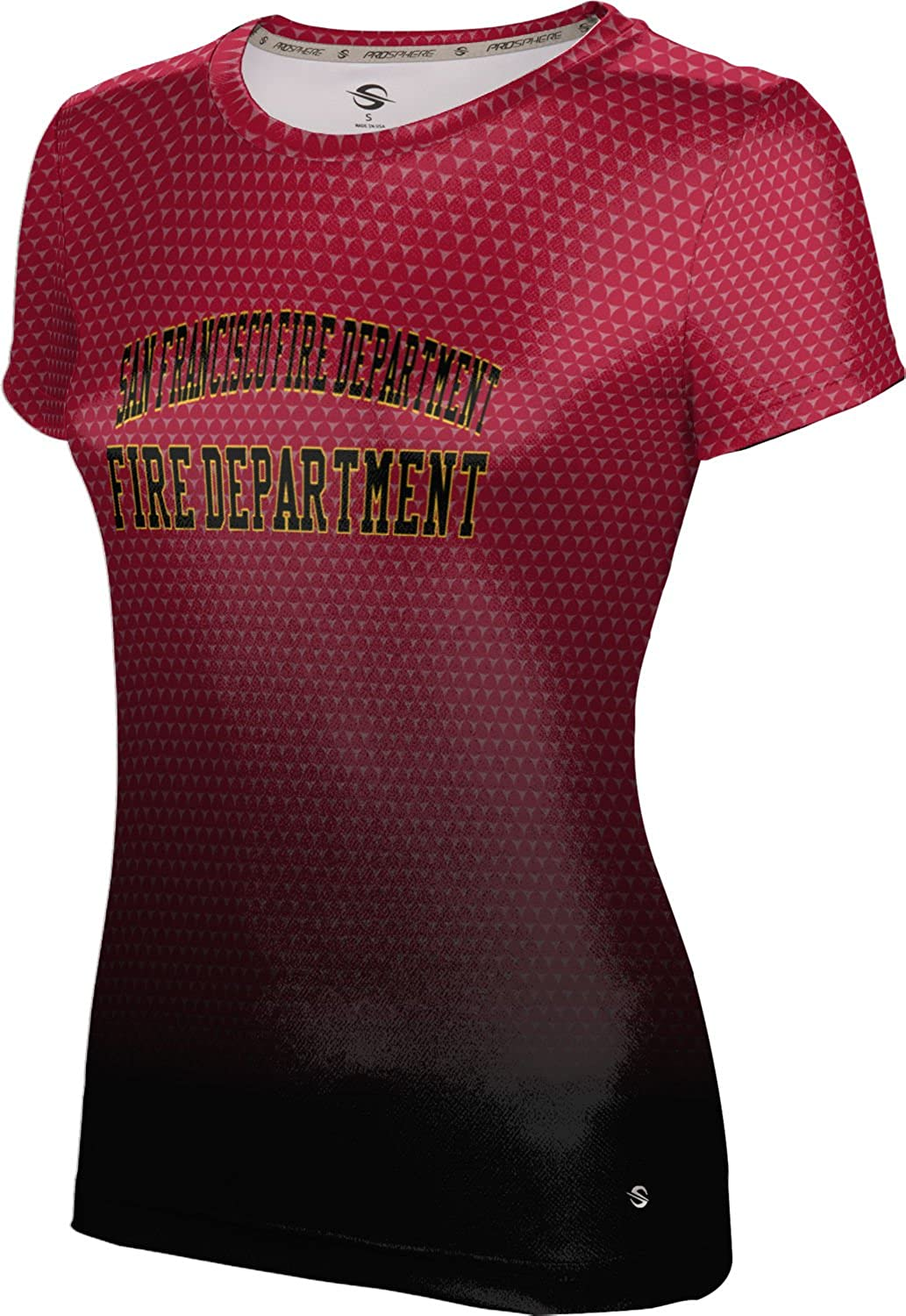 ProSphere Women's San Francisco Fire Department Gov-Fire-Police Zoom Tech Tee