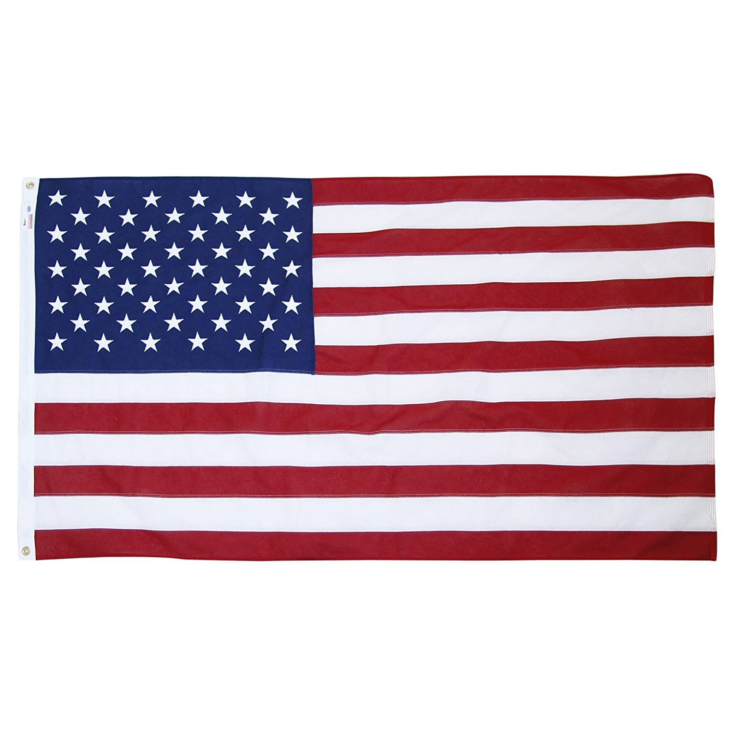 Valley Forge Brand American Flag 5x9.5ft Cotton by Valley Forge by Valley Forge