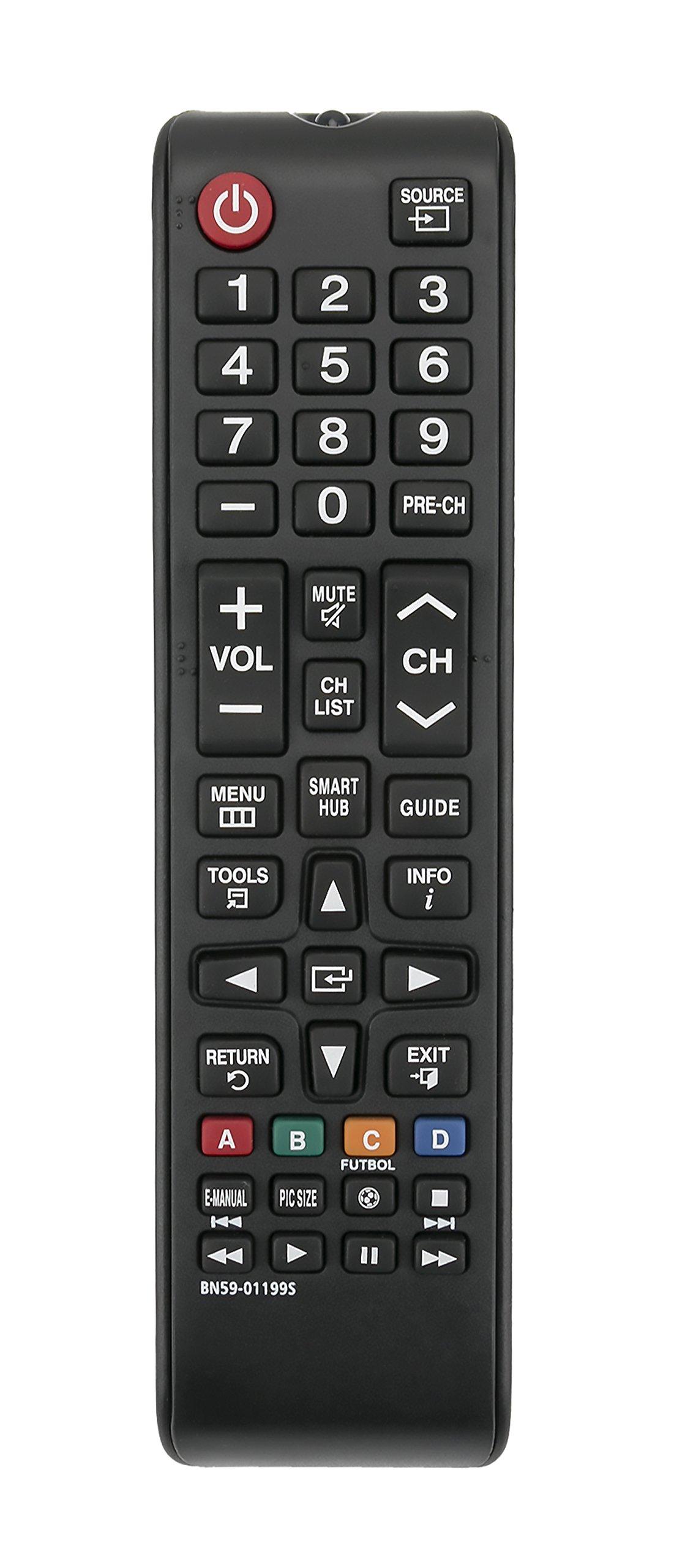 Control Remoto BN59 01199S Samsung Smart TV UN32J5205AF U...